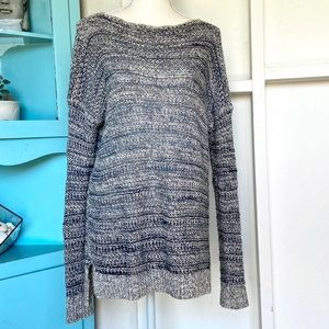 Vince Marbled Loose knit Sweater S